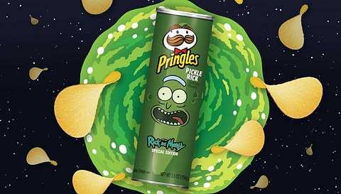 Rick und Morty: Pringles bringt Pickle-Rick-Chips in die Regale