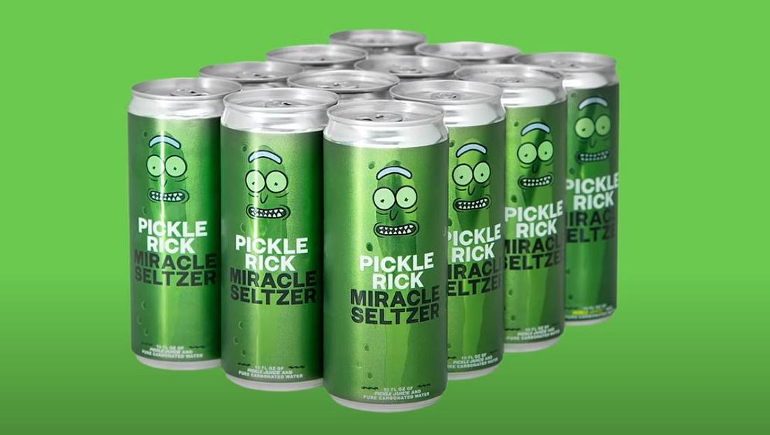 Pickle Rick Miracle Seltzer Sprudel