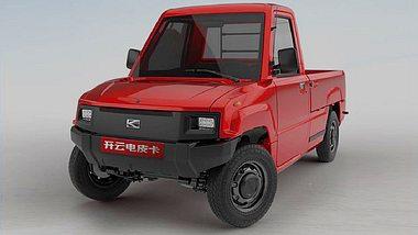 Chinesen bringen E-Pick-up zum Aldi-Preis nach Deutschland