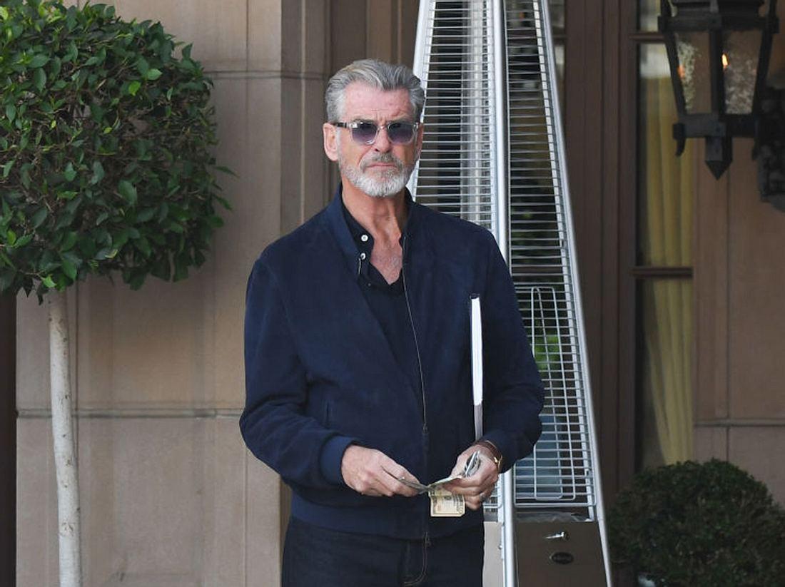 Ist Pierce Brosnan schon in Rente?