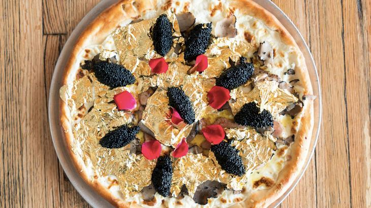 Die teuerste Pizza der Welt: Industry Kitchen New York