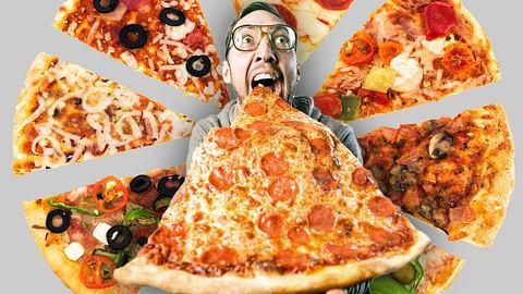 Lässigster Job der Welt? Du musst nur Pizza essen und reisen - Foto: iStock/ Montage: Männersache