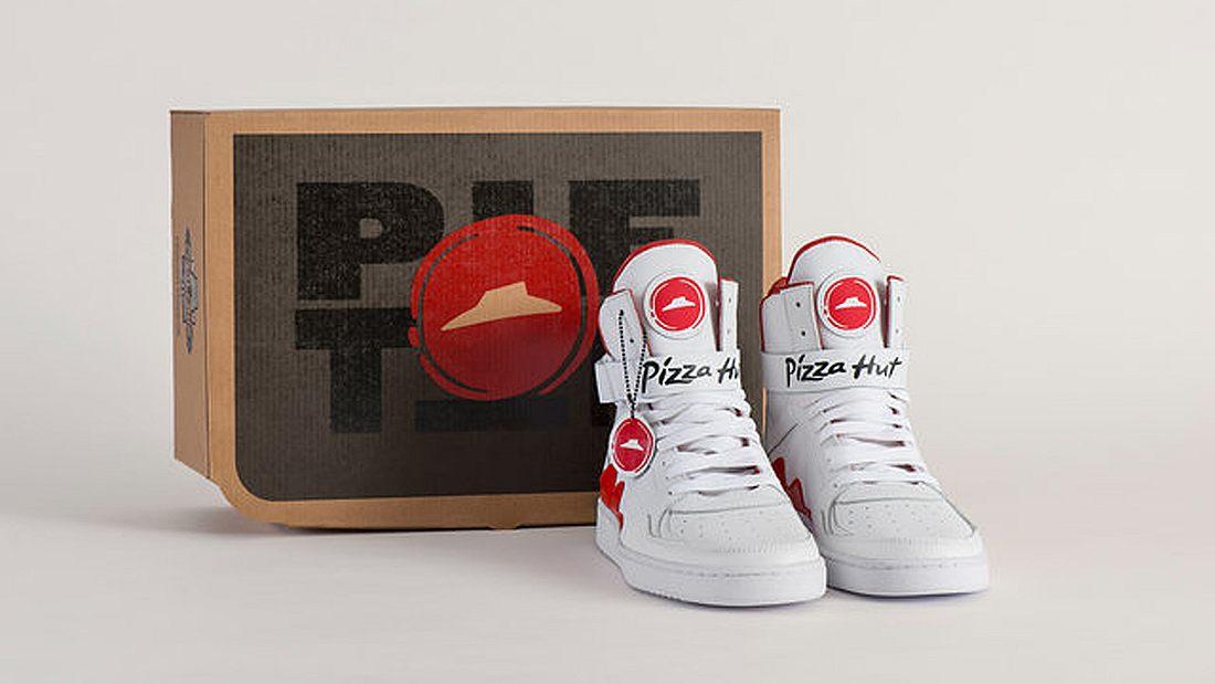 Pie Tops: Pizza Huts neue Bluetooth-Sneaker liefern Pizza per Knopfdruck genau an den Standort ihres Trägers