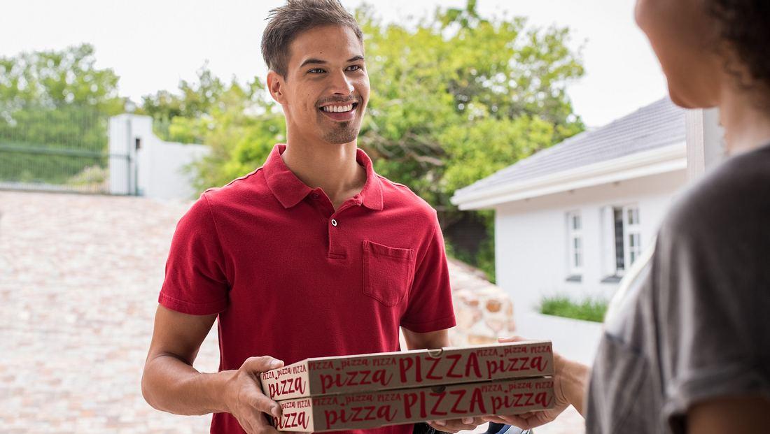 Pizza-Lieferung