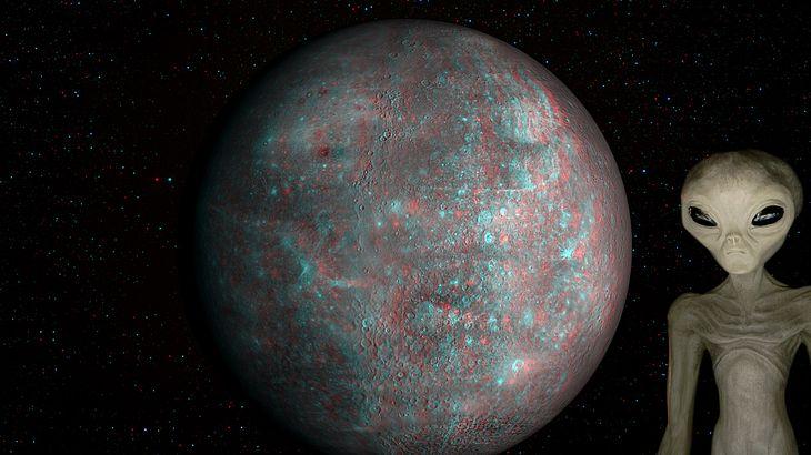 """UFO-Jäger entdecken geheime """"Alien-Tür"""" auf Planeten Merkur"""