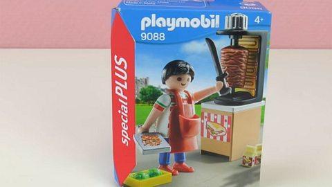 Der Kebap-Grill von Playmobil - Foto: youtube/Spiel mit mir - Kinderspielzeug