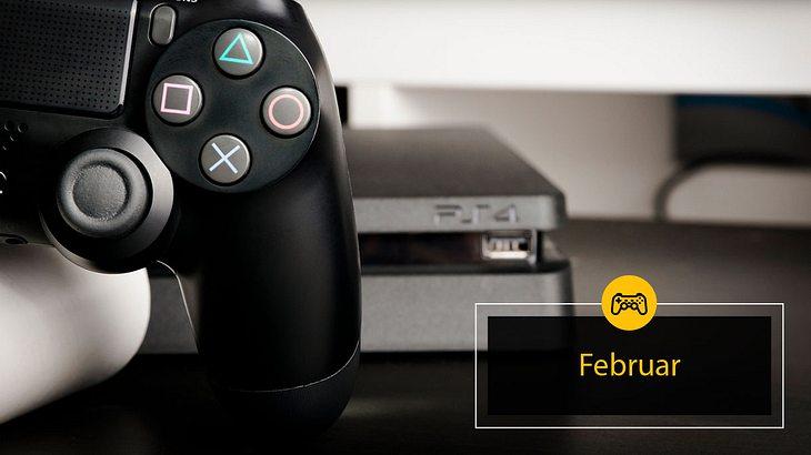 PlayStation 4 Spiele Februar