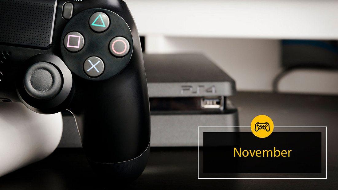 PlayStation 4 Spiele November