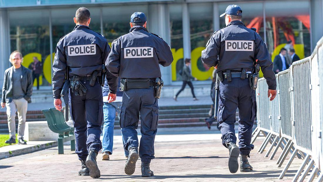 Polizisten in Frankreich