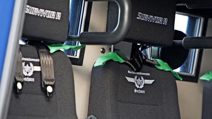 Nazi-Stickereien? Skandal um Sachsens neuen Polizei-Panzerwagen