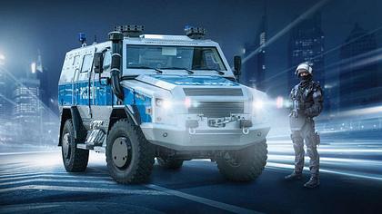Anti-Terror: Deutsche Polizei kauft brutalsten Panzerwagen der Welt