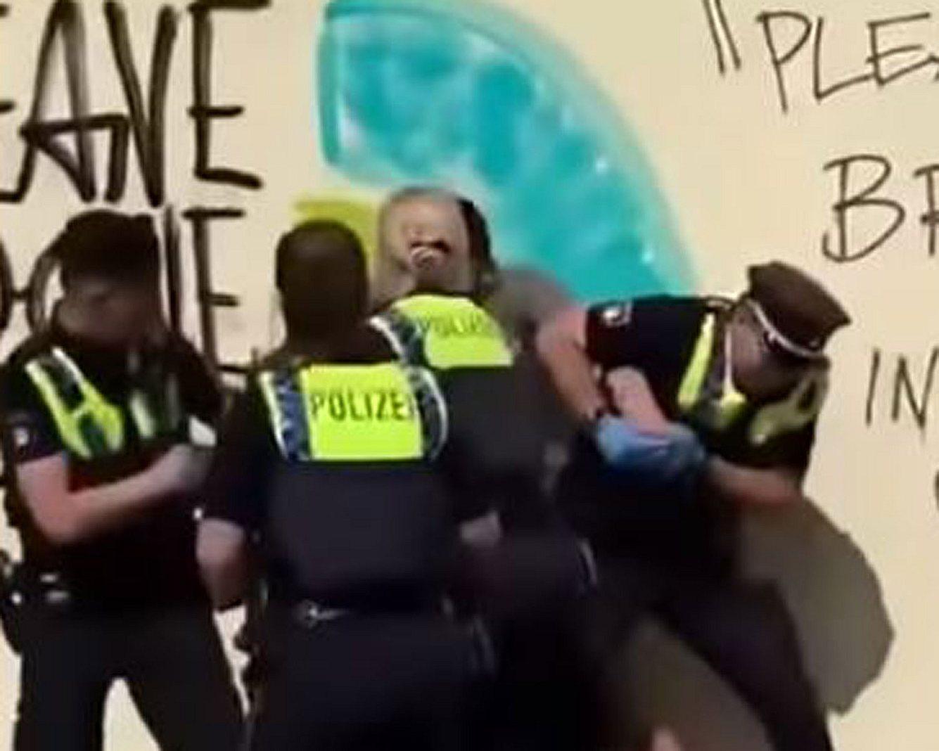Festnahme in Hamburg