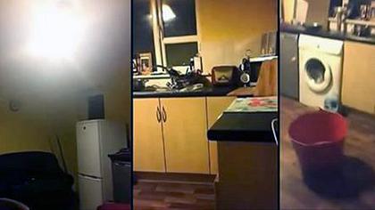 Poltergeist-Attacke auf Video: Polizei evakuiert verfluchtes Haus