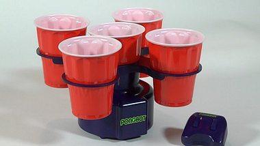 Pongbot: Ein Roboter-Gadget für Beer Pong - Foto: Kickstarter/PongBot