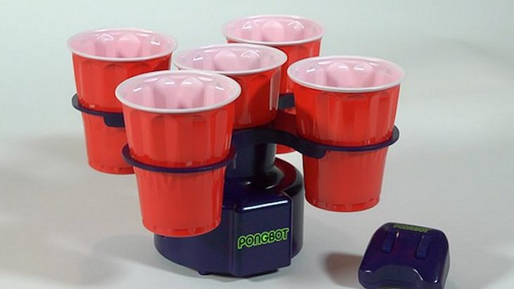 Pongbot: Ein Roboter-Gadget für Beer Pong