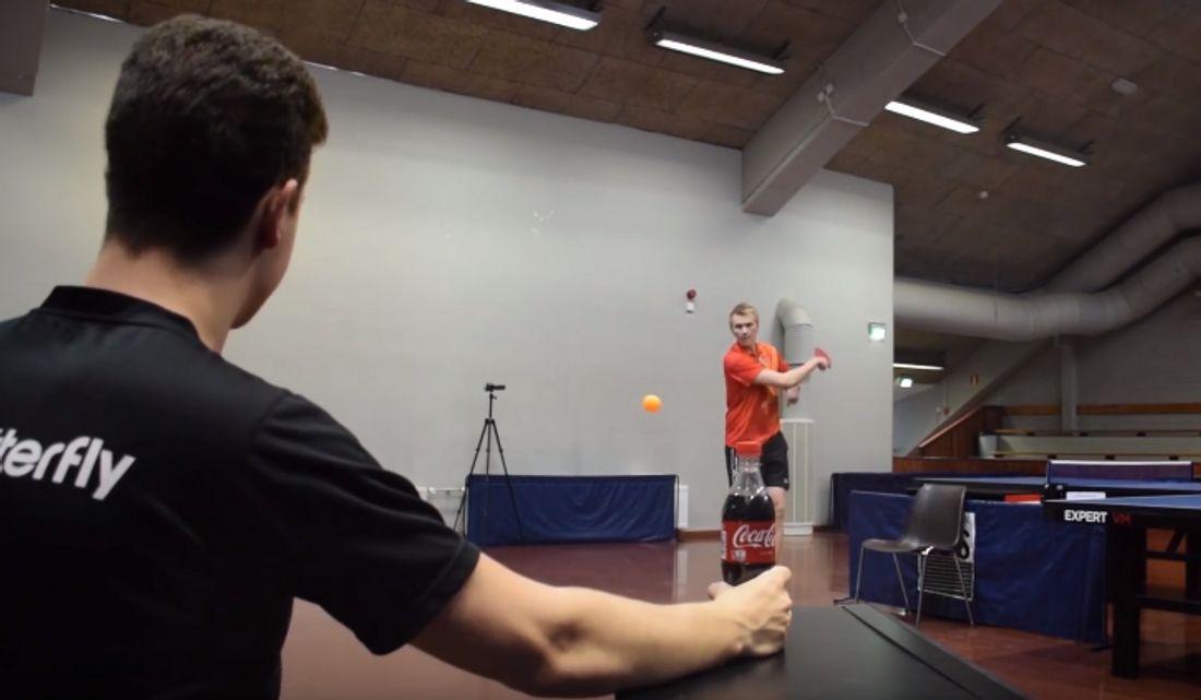 Epische Trick-Shots zeigt der YouTube-Kanal Pongfinity