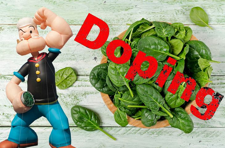 Popeye lässt grüßen: Wissenschaftler wollen Spinat auf die Doping-Liste setzen