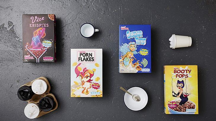 Die Porn Flakes von Cereal Motel