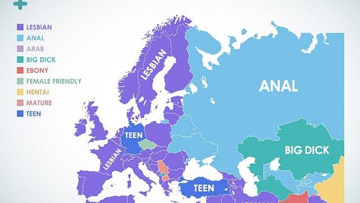 Diese Porno-Kategorien schauen europäische Frauen am liebsten