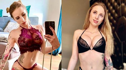 Pornodarstellerin Hanna Secret - Foto: Instagram / hannasecret_offi
