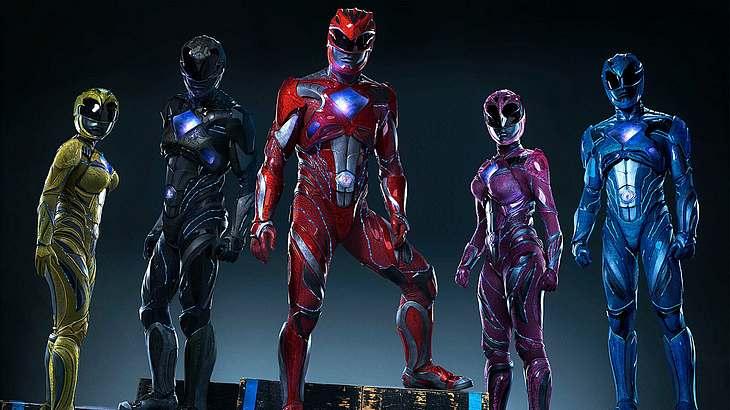 Das ist der zweite Trailer zum Power Rangers Film