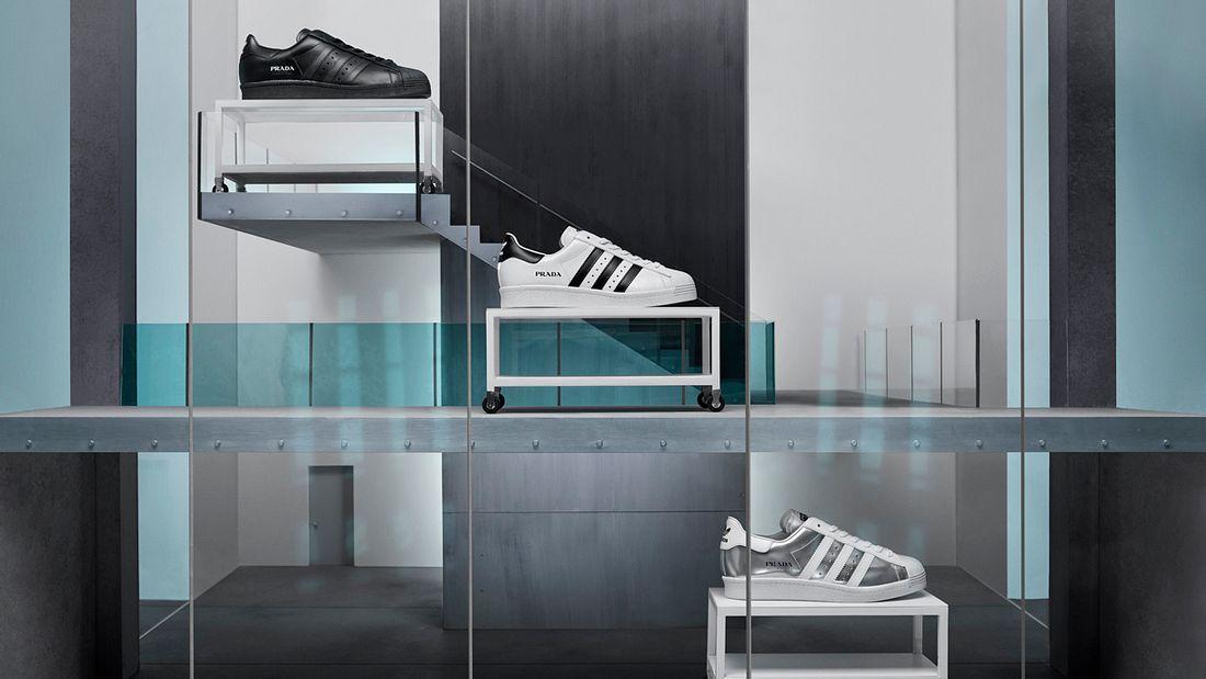 Prada und adidas Originals