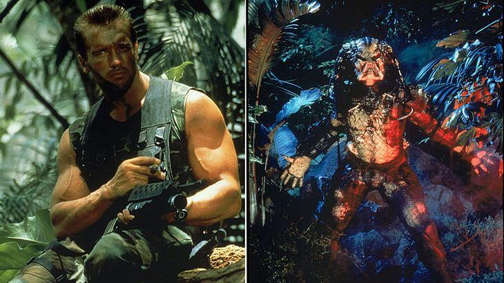 Arnold Schwarzenegger und der Predator