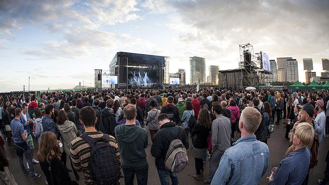 Das Primavera-Sound-Festival in Barcelona.