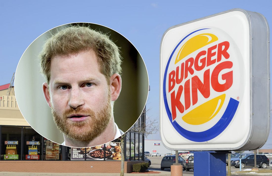 Prinz Harry und Burger King