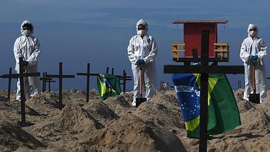 Corona in Brasilien: 1 Million Infizierte und über 50.000 Tote