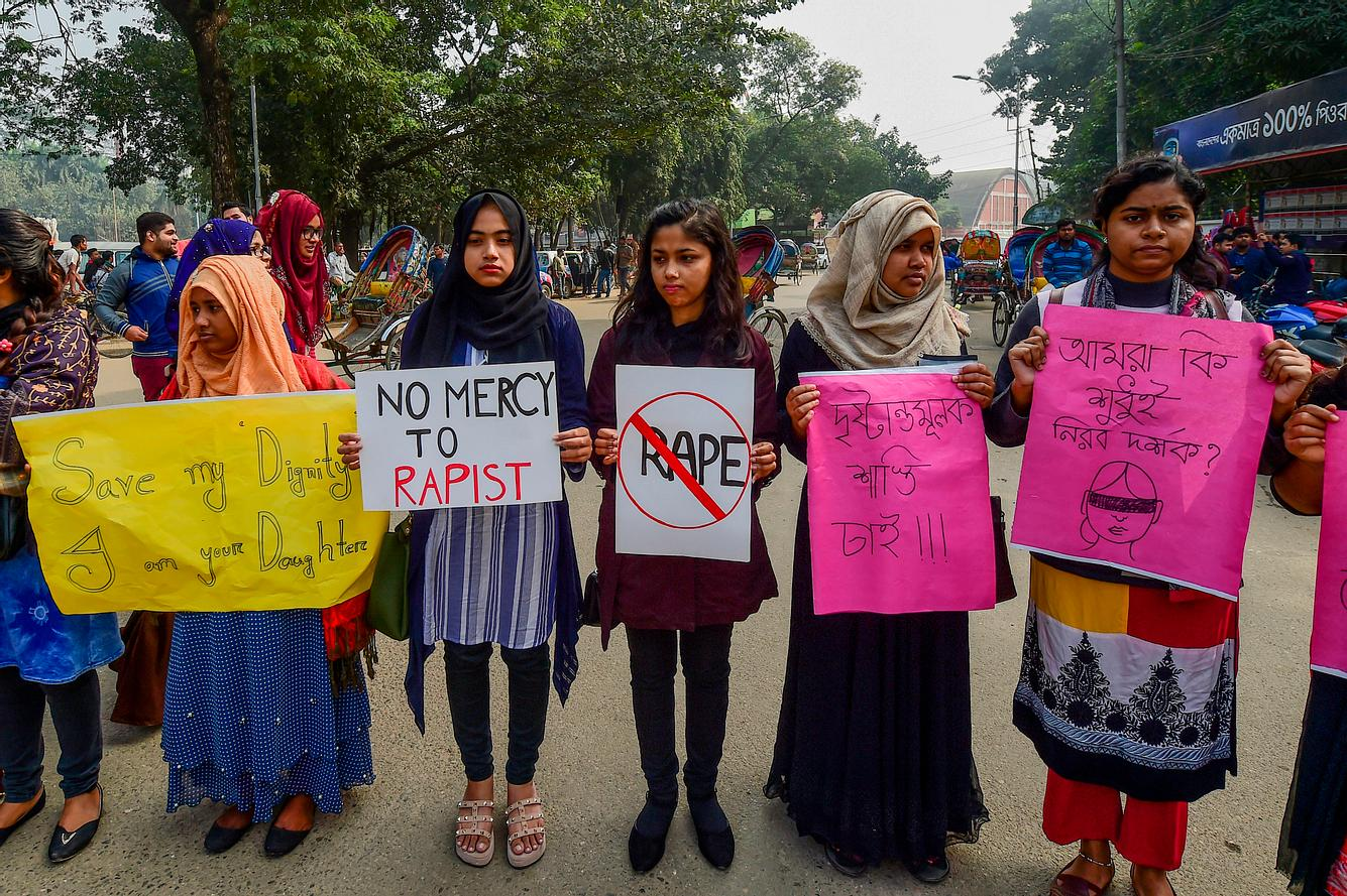 Proteste gegen Vergewaltiger in Bangladesh