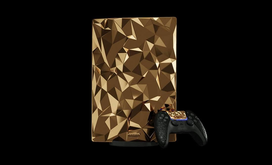Vergoldete PS5