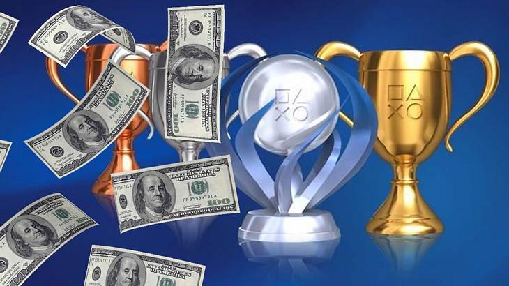 PS4 Trophäen lassen sich in Geld umwandeln