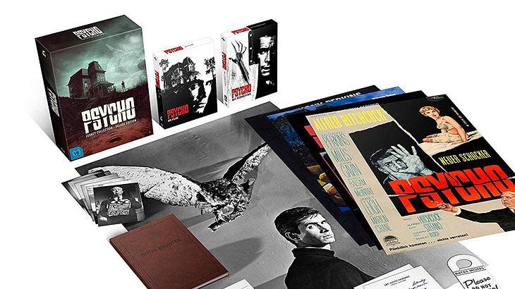 Für Hitchcock-Fans: Die Psycho Legacy Box