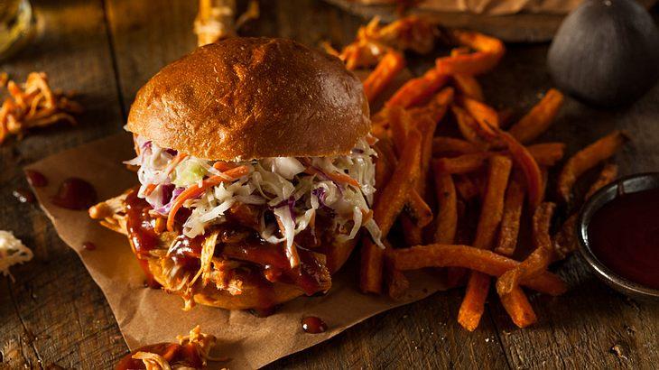 Pulled Pork Burger ist der BBQ-Trend