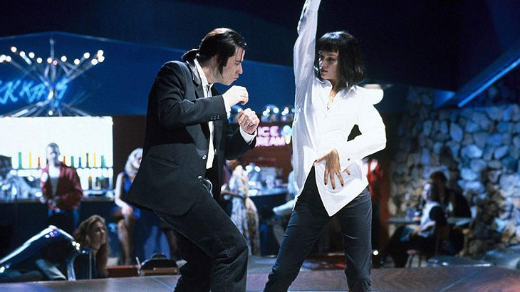 "John Travolta und Uma Thurman in ""Pulp Fiction"""