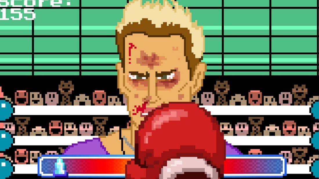 Im Mobile-Game To Punch A Nazi verprügelt der Spieler Rechtsradikale