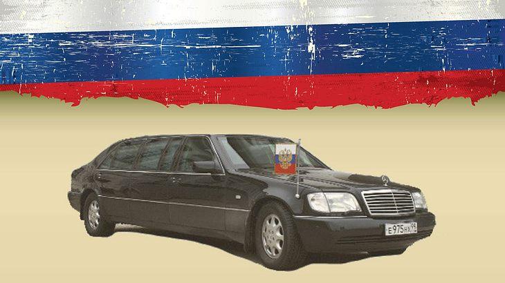 Steht zum Verkauf: Putins Mercedes-Benz S 600 Pullman