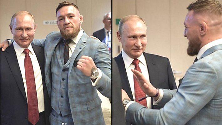 Wladimir Putin und Conor McGregor - Foto: Instagram / Conor McGregor
