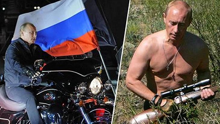 2018 mit Wladimir Putin: Der Kalender ist da