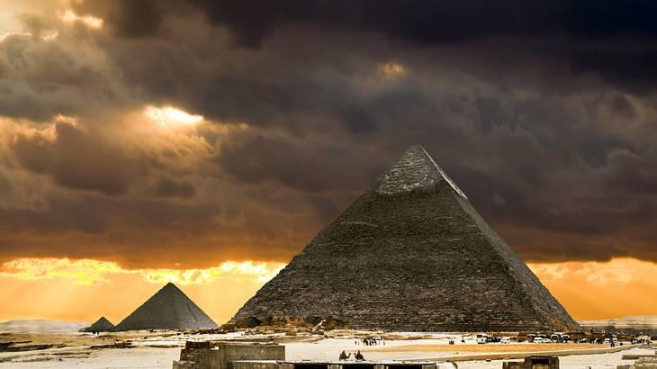 Die Pyramide von Gizeh gilt als mystisches Bauwerk