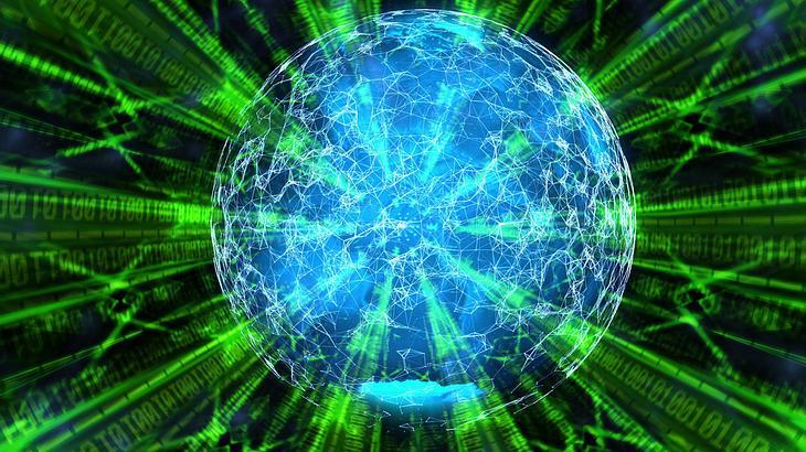 Quantencomputer (künstlerische Darstellung)