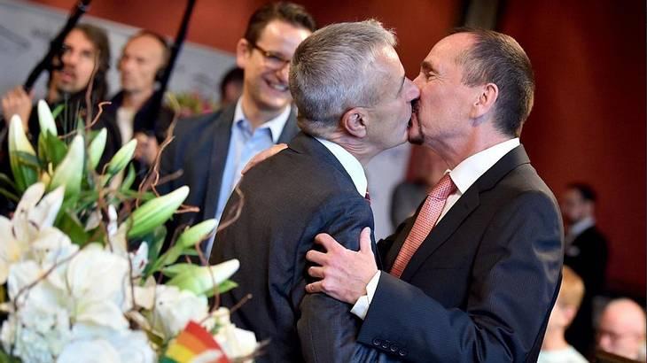 Die erste Homo-Ehe wurde geschlossen