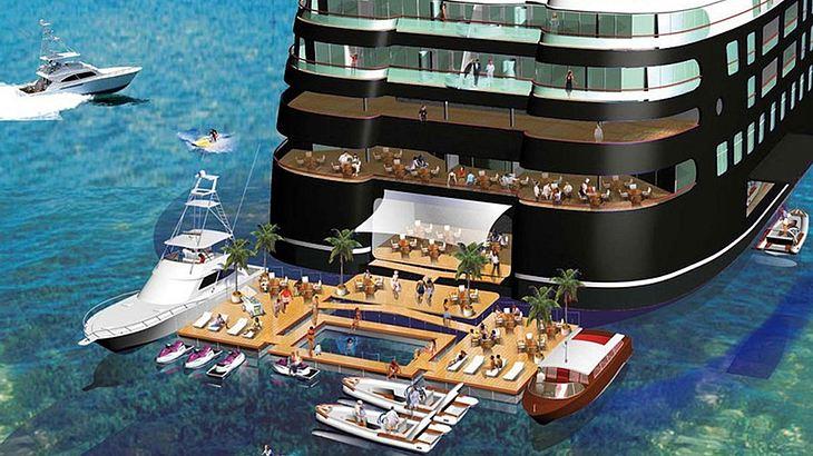 Quintessentially One: Mit 220 Metern Länge vielleicht bald die größste Yacht der Welt
