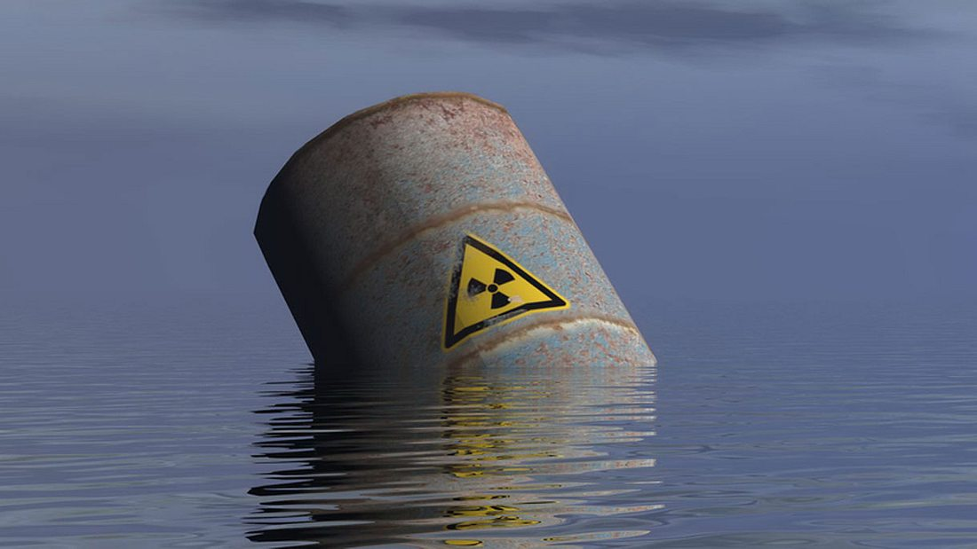 Die Nordsee als radioaktive Müllkippe
