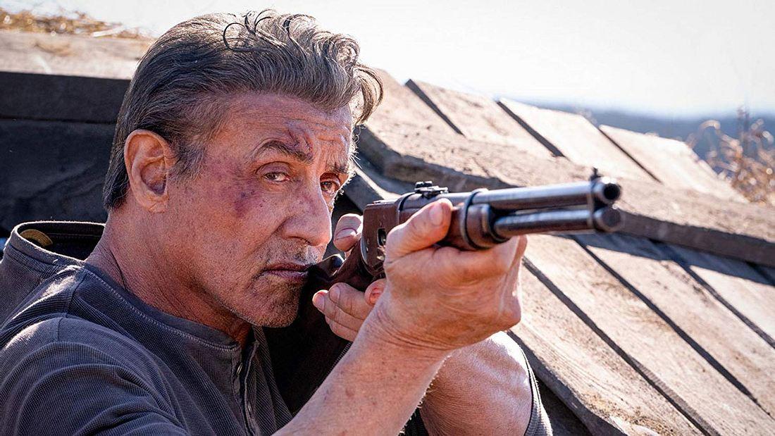 Sylvester Stallone in Rambo 5
