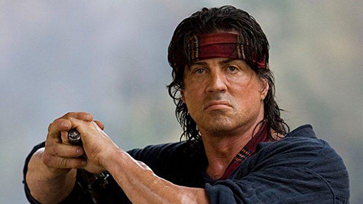 "Sylvester Stallone als und in ""John Rambo"""
