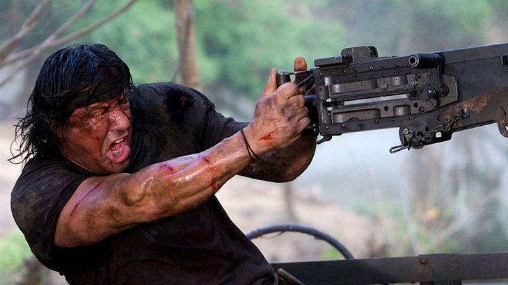 """Sylvester Stallone in """"John Rambo"""""""