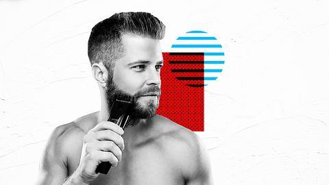 Mann mit Rasierer - Foto: iStock / vadimguzhva / Männersache