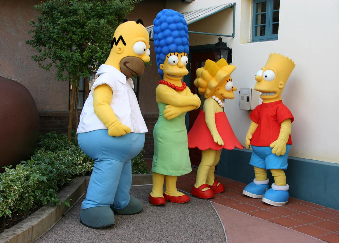 Figuren der Simpsons-Familie